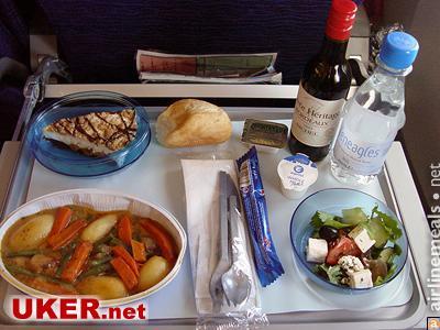 盘点各国航空公司的飞机餐(组图)